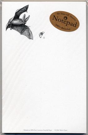 Big-eared Bat Notepad