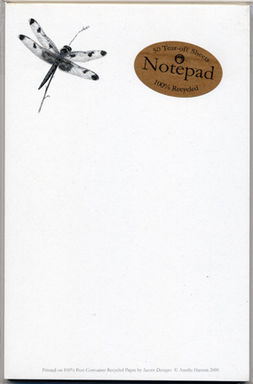 Calico Pennant Notepad