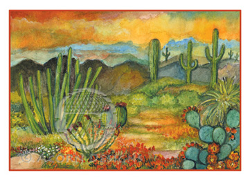Sonoran Desert  Notecard