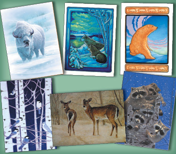 Winter Wildlife Assortment