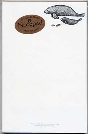 Manatees Notepad