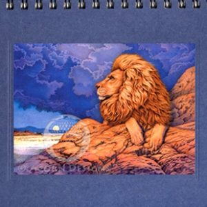 African Lion Notecard
