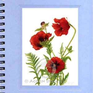 Oriental Poppy Journal