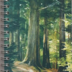 Cover image - Ancient Forest Mini Journal