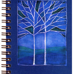 Cover image - Blue Dusk Mini Journal