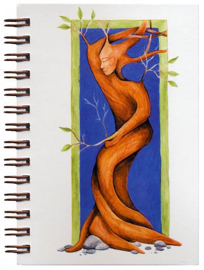 Cover image - Tree Spirit Mini Journal
