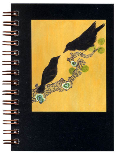 Cover image - Crows Mini Journal
