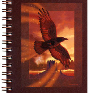 Cover image - Raven Mini Journal