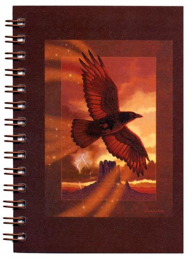 Cover image - Raven Mini Journal