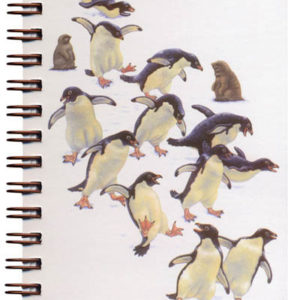 Cover image - Adelie Penguins Mini Journal