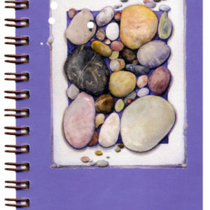 Cover image - Ocean Tumbled Stones Mini Journal