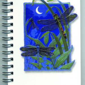 Cover image - Dragonflies by Moonlight Mini Journal