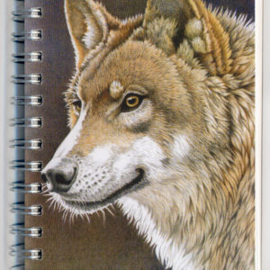 Cover image - Wolf Mini Journal