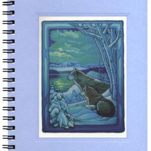 Seasons of the Wolf - Winter Notecard
